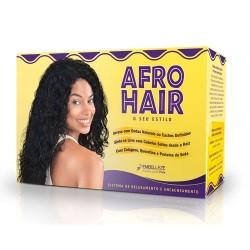 Kit tratamiento de keratina Afro Hair para permanente y relajar rizos 230g