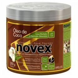 Mascarilla Novex Coco liso perfecto y nutrición absoluta tratamiento ultraprofundo 210g