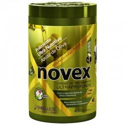 Mascarilla Novex Oliva pulimiento ultra-nutritivo tratamiento ultraprofundo 400g