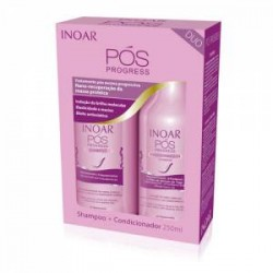 Kit de mantenimiento Inoar Duo Post Progress 2x250ml