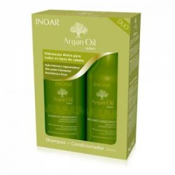 Kit de mantenimiento Inoar Duo Argan Oil 2x250ml