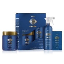 Kit de alisado Gold Black Definitive Liss con keratina 1060g