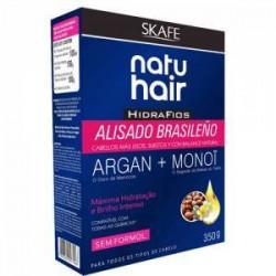 Kit de alisado brasileño Natuhair con argán y monoi 350ml