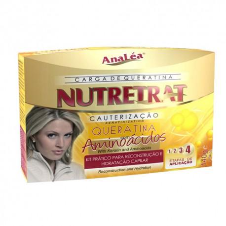 Kit tratamiento de keratina Nutretrat cauterización con aminoácidos 140g
