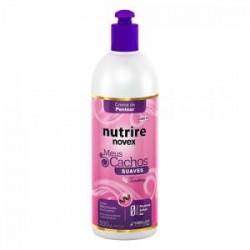 Crema de peinar Novex Mis Rizos Intensos con cranberry brillo y super hidratación 500g