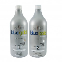 Pack Alisado Brasileño Salvatore Blue Gold Taninoplastia (2X1) 1000 ml
