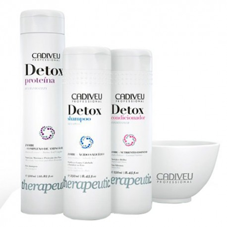 Kit tratamiento Cadiveu Detox Therapeutic 4 productos