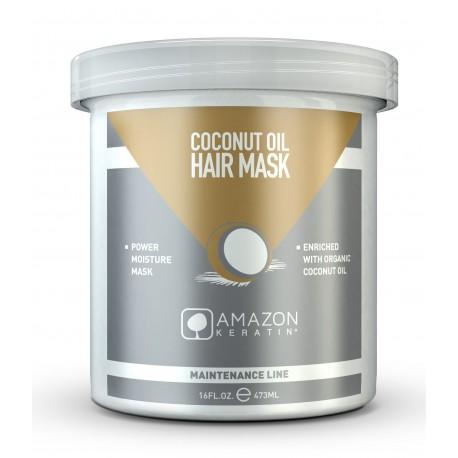 Amazon Keratin Mascarilla Aceite De Coco 473 ml